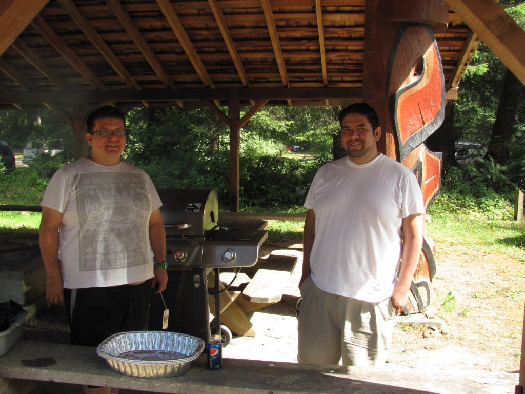 Greg and Dennis Thomas, our cooks
