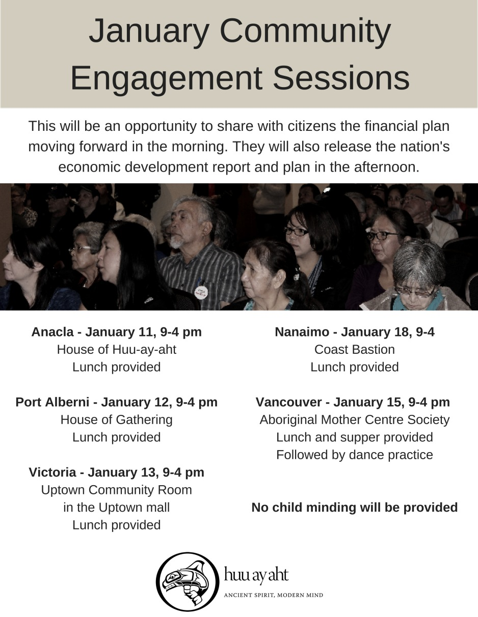 January Community Engagement Sessions